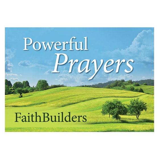 Faithbuilders: Powerful Prayers (Cards)