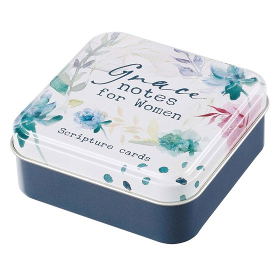 Grace Notes for Women Scripture Card Tin (Cards)