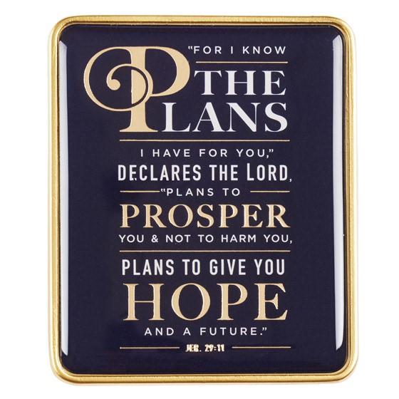 Jeremiah 29:11 Visor Clip (General Merchandise)
