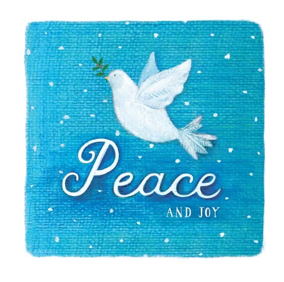 Charity Christmas Cards: Peace and Joy (pack of 10) (Cards)