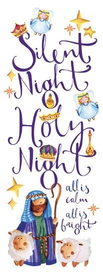 Charity Christmas Cards: Silent Night (pack of 10) (Cards)