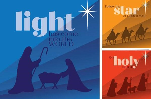 Assorted Christmas Cards (Pack of 18) (Cards)