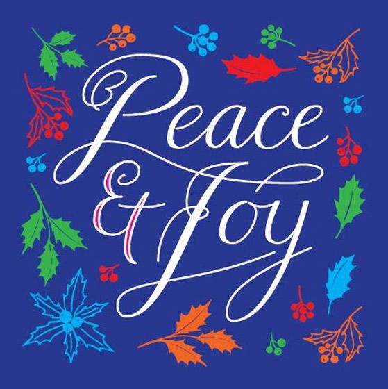 Peace and Joy Charity Christmas Cards (pack of 10) (Cards)