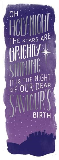 Oh Holy Night Charity Christmas Cards (pack of 10) (Cards)