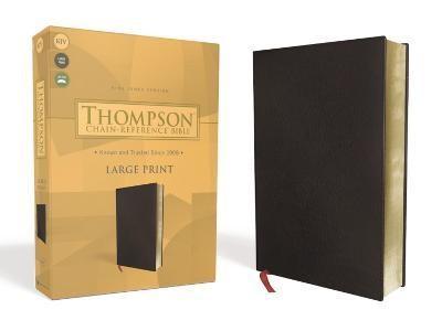 KJV Thompson Chain-Reference Bible, Large Print, Black (Bonded Leather)