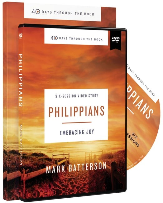 Philippians Study Guide with DVD (Paperback w/DVD)
