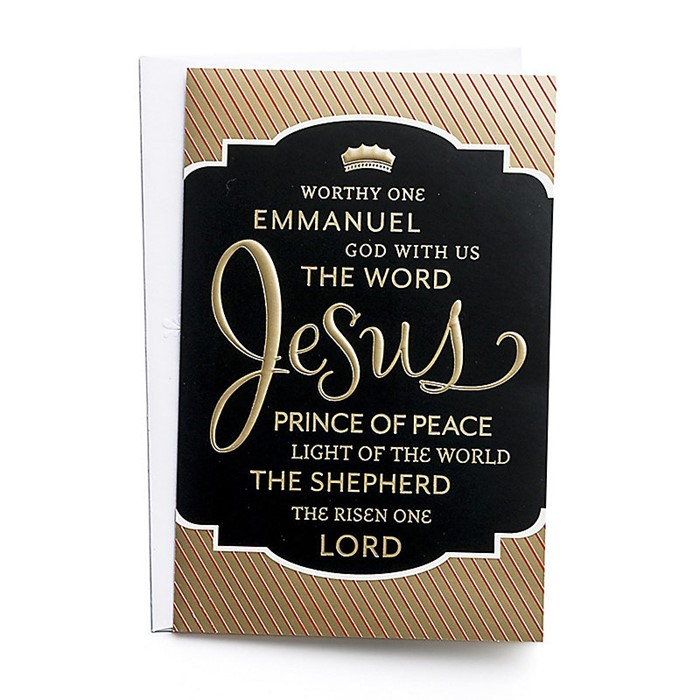 Christmas Boxed Cards: Names of Jesus (pack of 50) (Cards)