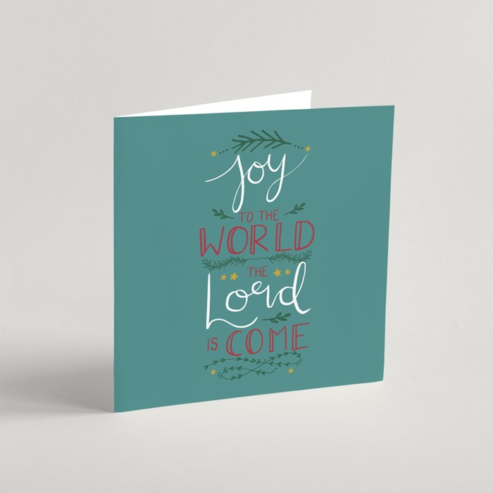 Joy to the World Christmas Cards (pack of 10) (Cards)