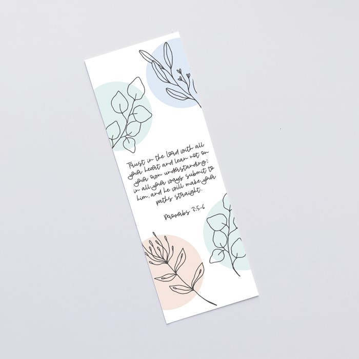 Trust in the Lord (Flora) Bookmark (Bookmark)