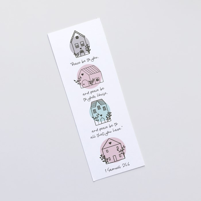 Peace Be To Your House (Scandi Home) Bookmark (Bookmark)