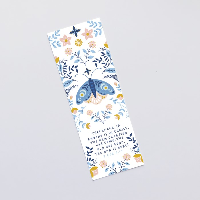 New Creation (Moth) Bookmark (Bookmark)