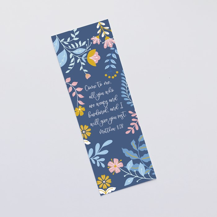 Come to Me (Blooms) Bookmark (Bookmark)