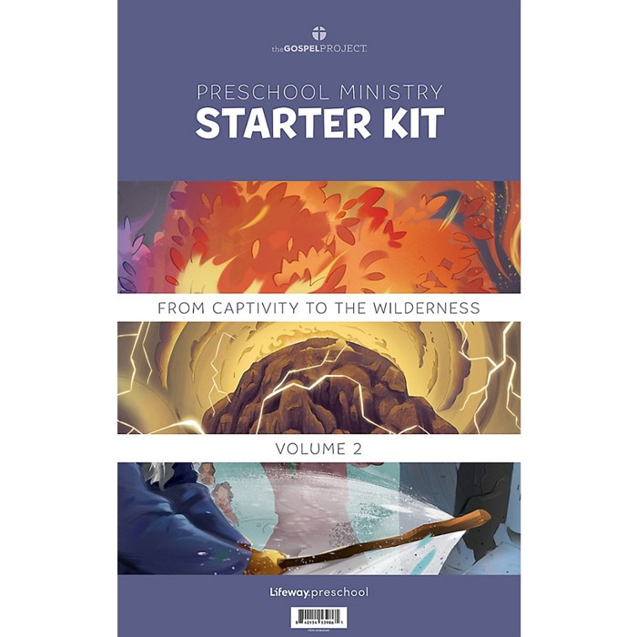 Gospel Project Preschool Starter Kit, Winter 2022 (Kit)