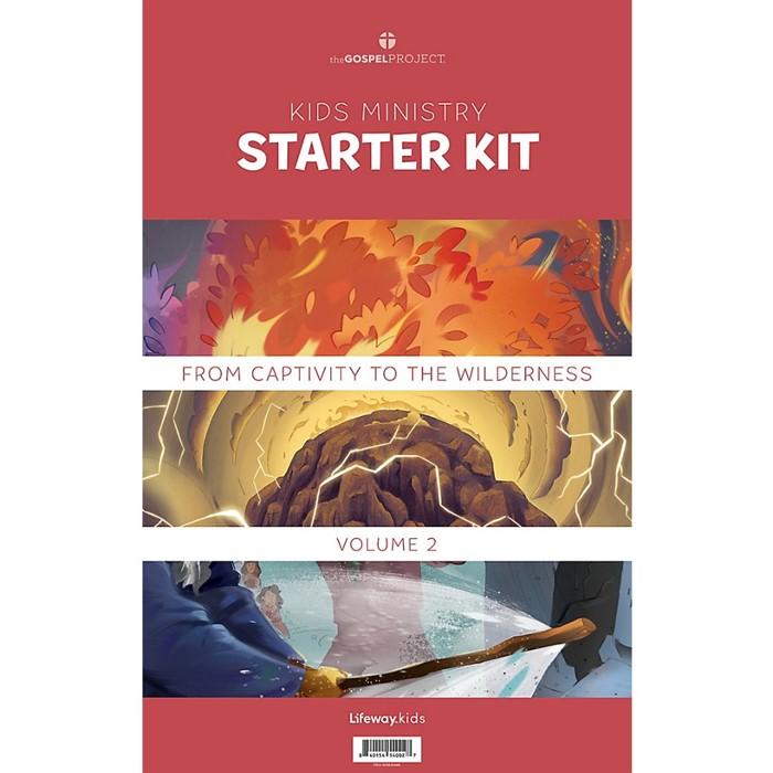 Gospel Project Kids Starter Kit, WInter 2022 (Kit)