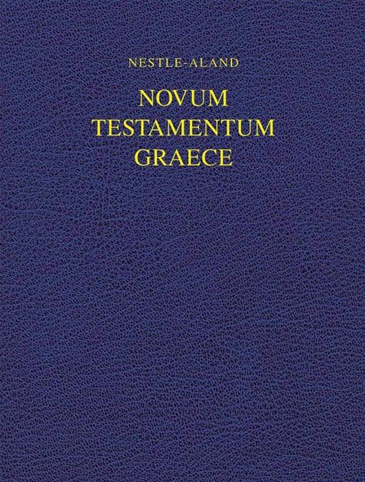 Nestle-Aland Novum Testamentum Graece 28 (Hard Cover)