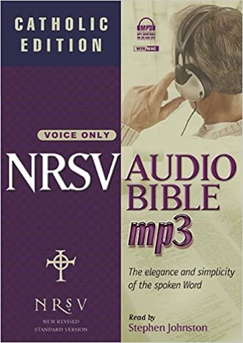 NRSV Audio Bible with Apocrypha MP3 CD (MP3 CDs)