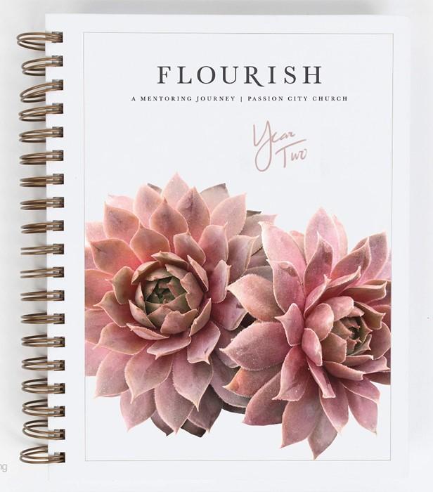 Flourish: A Mentoring Journey, Year Two (Spiral Bound)