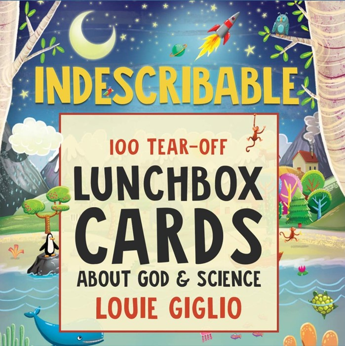 Indescribable Tear-Off Lunchbox Cards (Paperback)