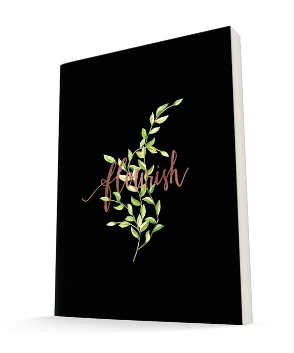 The Grove Journal, Flourish (Black) (Hard Cover)