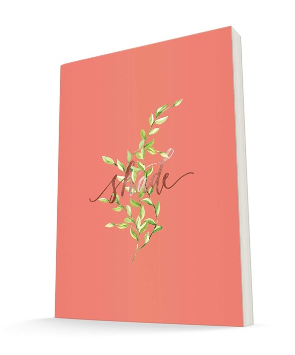 The Grove Journal, Shade (Orange) (Hard Cover)