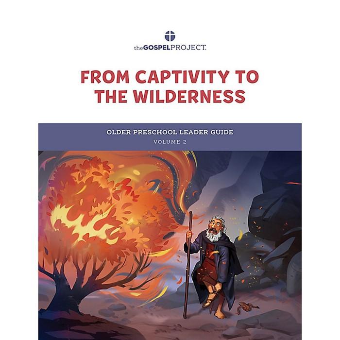 Gospel Project: Older Preschool Leader Guide, Winter 2022 (Paperback)