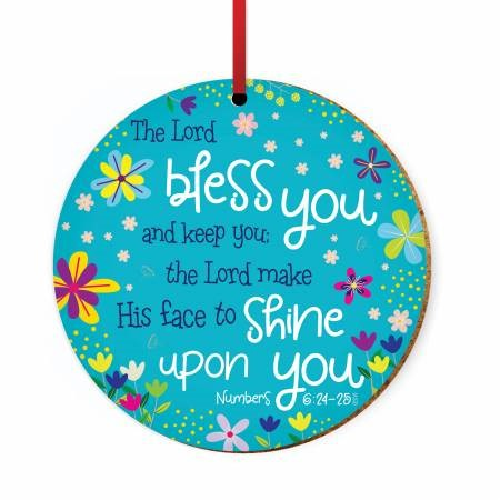 Bless You Ceramic Hanging Decoration (Ornament)