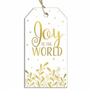 Joy to the World Gift Tags (General Merchandise)