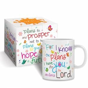 I Know the Plans Mug & Gift Box (General Merchandise)