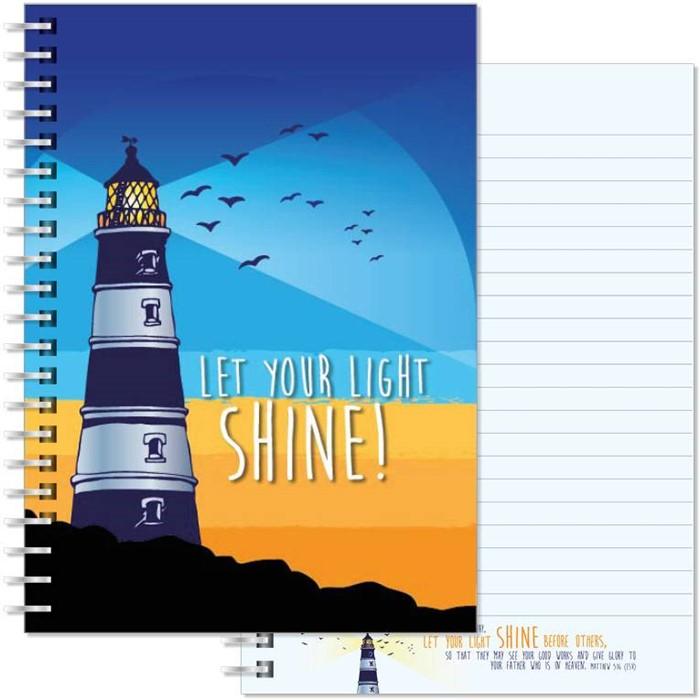 Lighthouse A5 Notebook (Paperback)