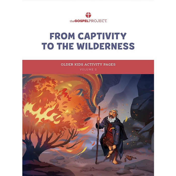 Gospel Project: Older Kids Activity Pages, Winter 2022 (Paperback)