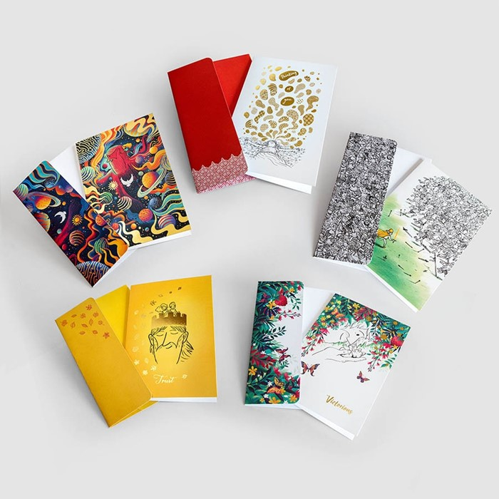 Victorious Greeting Cards (5 pack) (Cards)