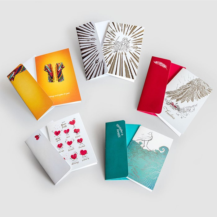 Fearless Greeting Cards (5 pack) (Cards)