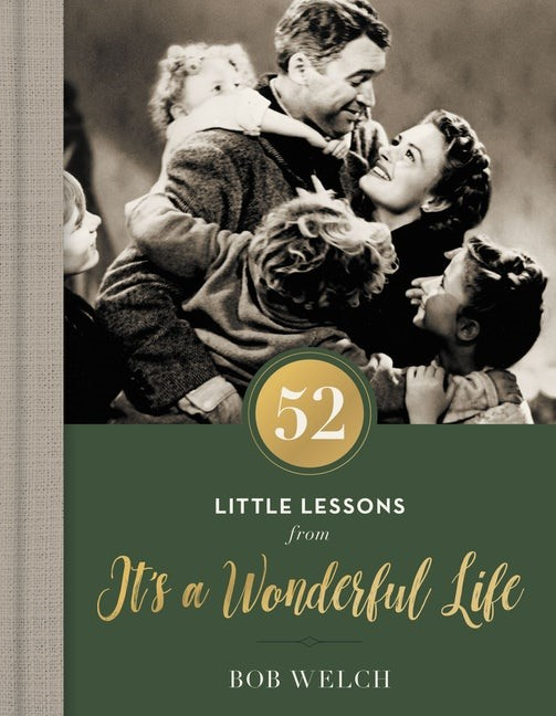 52 Little Lessons From It's a Wonderful Life (Hard Cover)