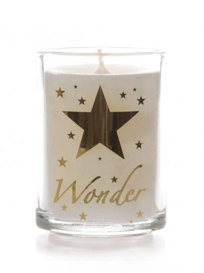 Wonder Glass Non Scented Candle (Individual) (General Merchandise)