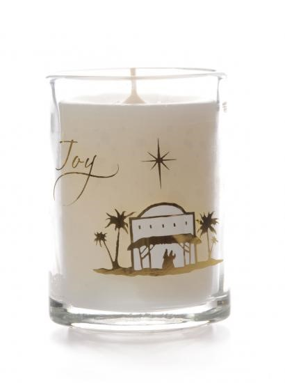 Joy Glass Non Scented Candle (Individual) (General Merchandise)