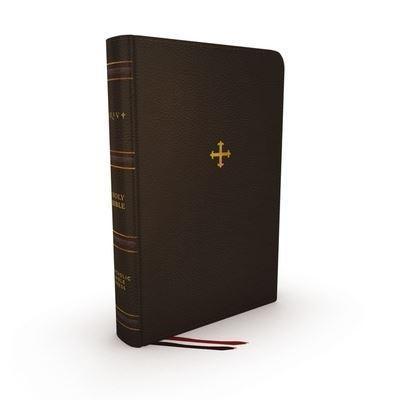 NRSV Catholic Bible Thinline Edition, Brown (Genuine Leather)