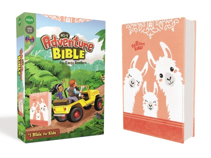 NIrV Adventur Bible for Early Readers, Coral (Imitation Leather)
