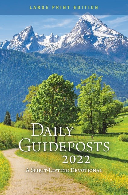 Daily Guideposts 2022 Large Print (Paperback)