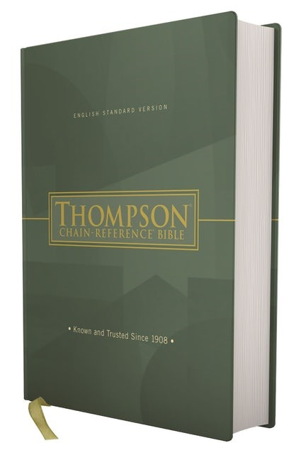 ESV Thompson Chain-Reference Bible, Red Letter (Hard Cover)