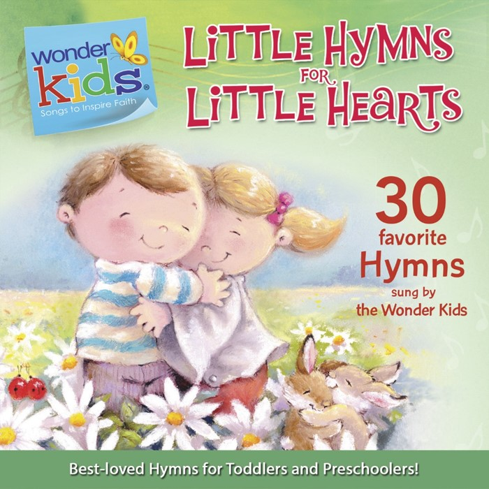 Little Hymns For Little Hearts (CD- Audio)