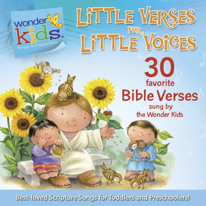 Little Verses For Little Voices (CD- Audio)