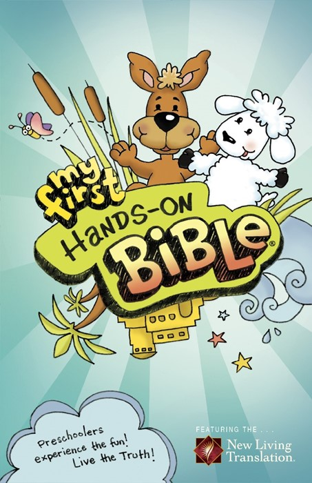 NLT My First Hands-On Bible (Paperback)