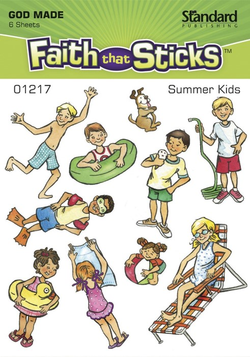 Summer Kids (Stickers)