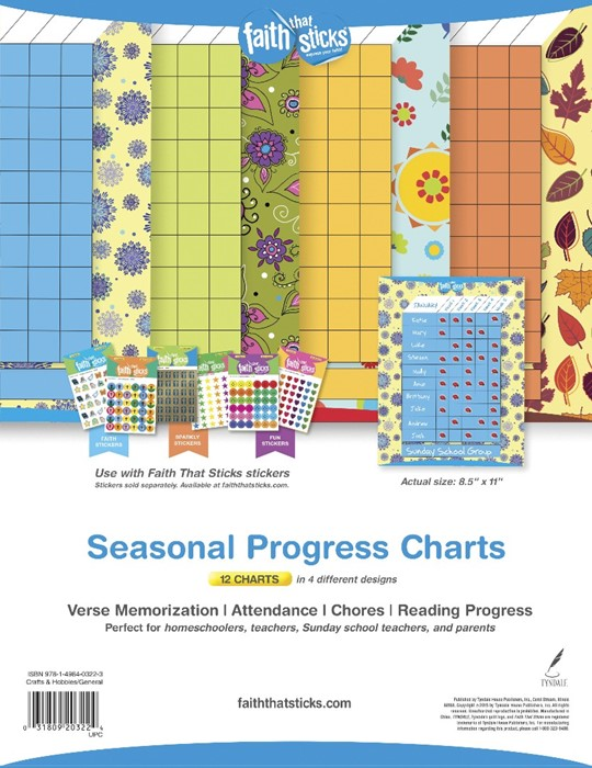Seasonal Progress Charts (Fold-Out/Chart)