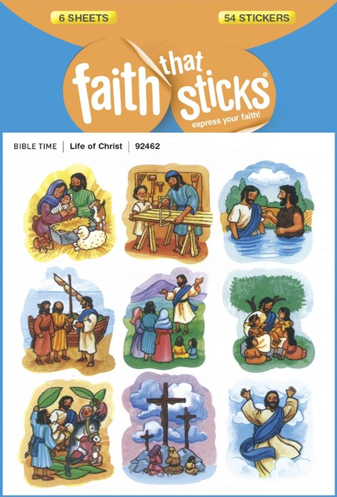 Life Of Christ (Stickers)