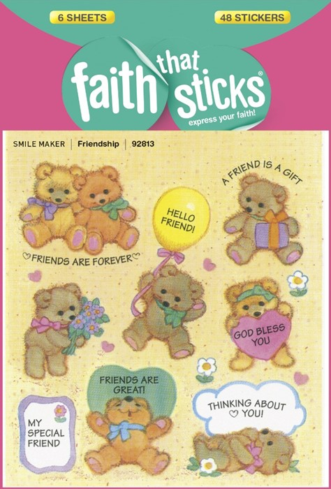 Friendship - Faith That Sticks Stickers (Stickers)