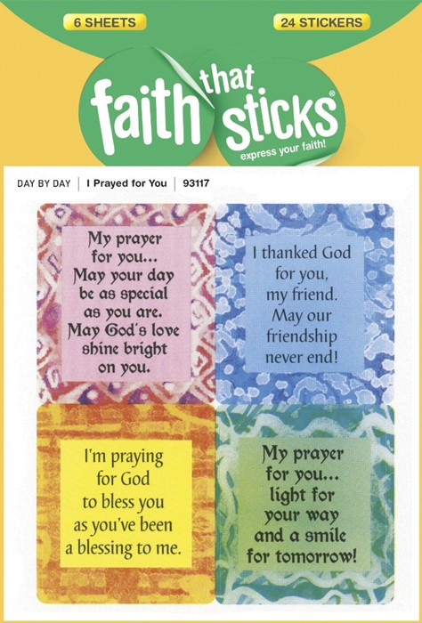 I Prayed For You (Stickers)