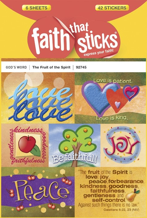 The Fruit Of The Spirit (Stickers)