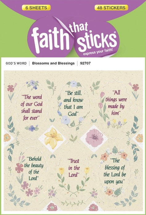 Blossoms And Blessings (Stickers)