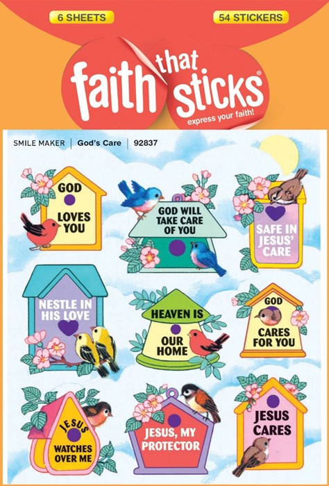God's Care (Stickers)